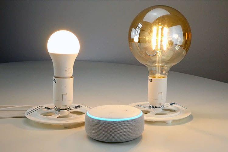 LSC Smart Connect LED Leuchtmittel sind Alexa-kompatibel und können per Sprache gesteuert werden