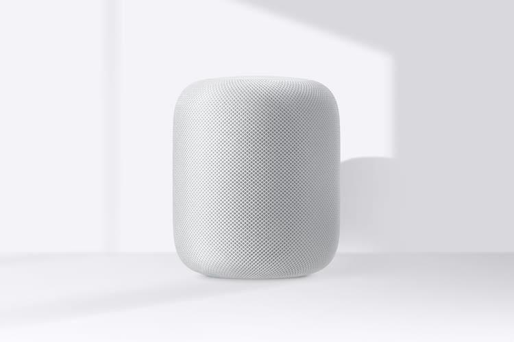 Apple's HomePod ist wie üblich in Weiß und Space Grey erhältlich
