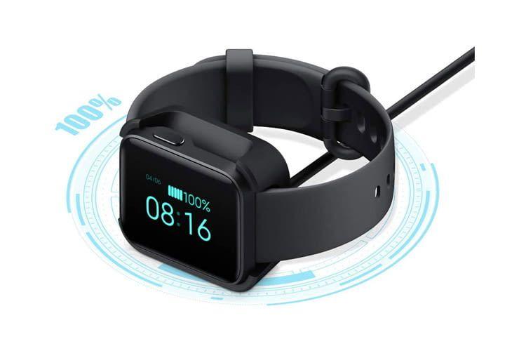 Der Akku der Xiaomi Mi Watch Lite hält bis zu 9 Tage ohne Nachladen durch
