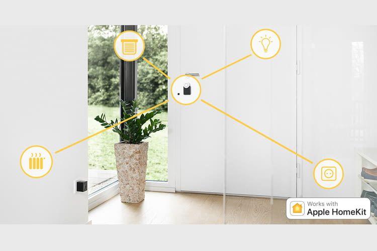 Das Nuki Smart Lock 2.0 ist via Apple HomeKit auch mit weiteren Smart Home Geräten kompatibel