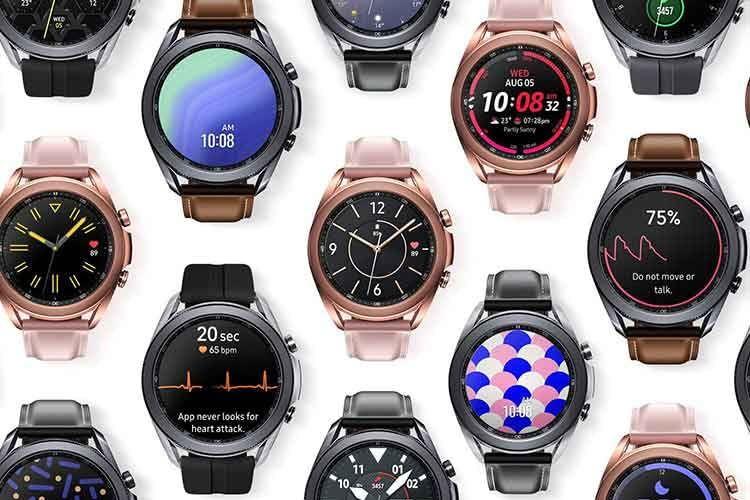 Das Ziffernblatt der Galaxy Watch 3 Smartwatch lässt sich individualisieren