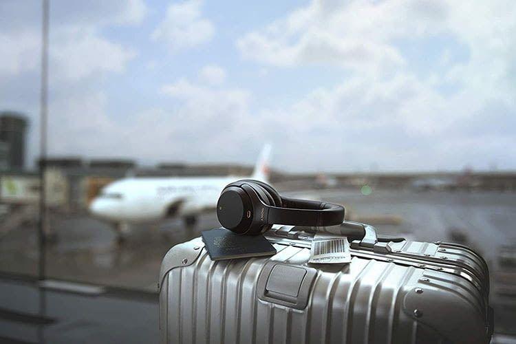 Perfekter Reisebegleiter - der Bluetooth-Kopfhörer Sony WH-1000XM3