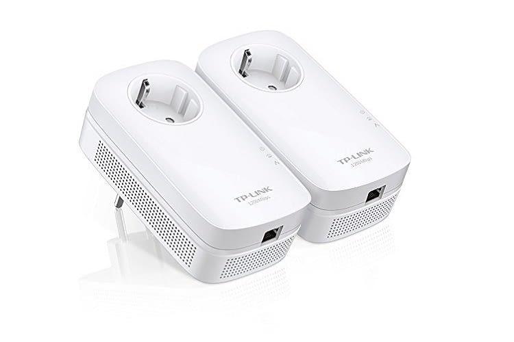 Der TP-Link Gigabit Powerline Netzwerkadapter ist ideal für HDTV