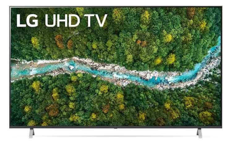 Bringt Stadion- und Kino-Atmosphäre nach Hause - der 75 Zoll TV Philips 75up77009lb