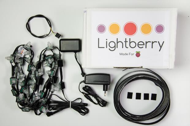 Die Komponenten in der Lightberry Box