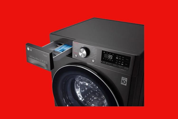 Anwender können bei dieser WLAN-Waschmaschine Programme per App oder manuell auswählen