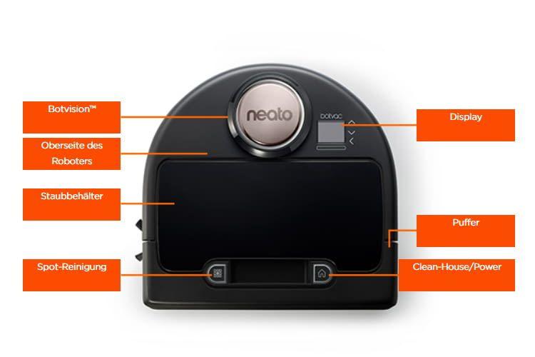 Der Neato Botvac Connected arbeitet beutellos