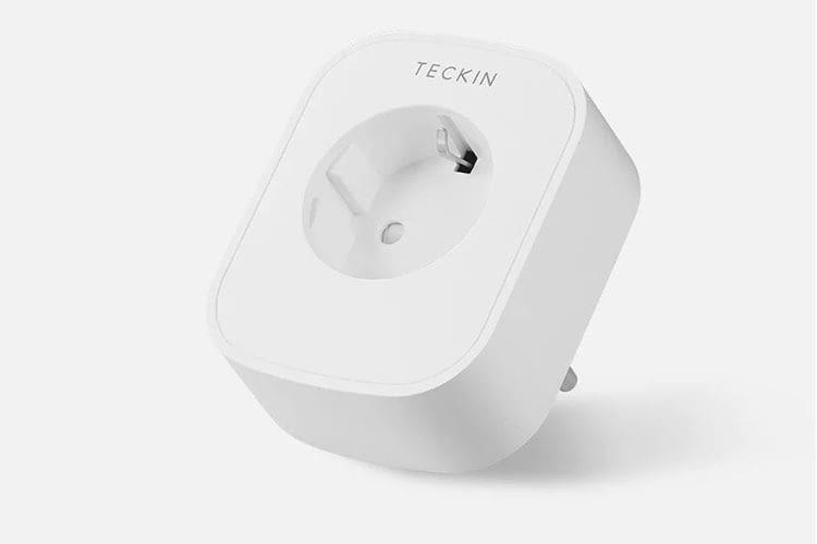 Die TECKIN SP 022-2 ist eine kompakte Google Home-kompatible WLAN-Funksteckdose mit Stromverbrauchsmessung