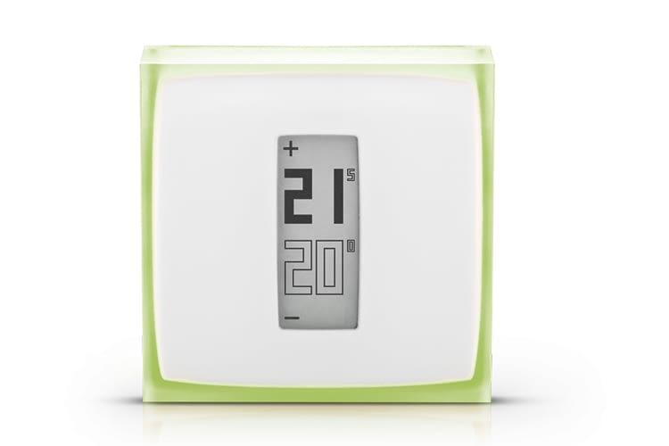 Das Netatmo Wandthermostat erhielt sein minimalistisches Design von Philippe STARCK