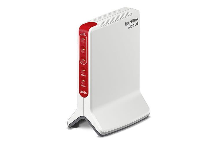 Der stationäre LTE Router FRITZ!Box 6820 bietet alle Vorteile einer FRITZ!Box, unterstützt aber nur 2,4 GHz WLAN