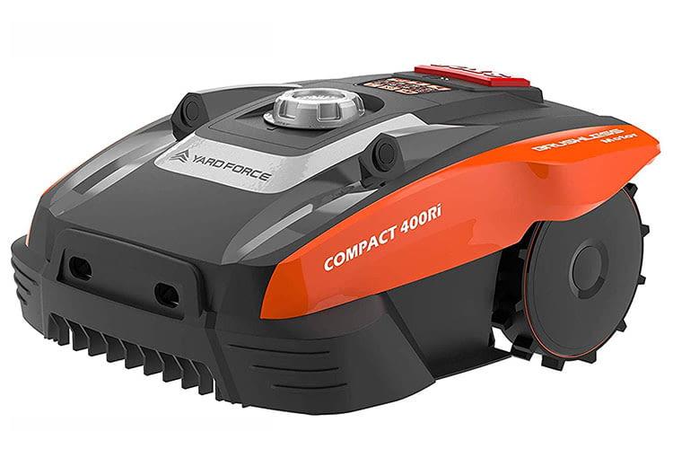 Yard Force COMPACT 400Ri bietet werksseitig integrierte Ultraschallsensoren