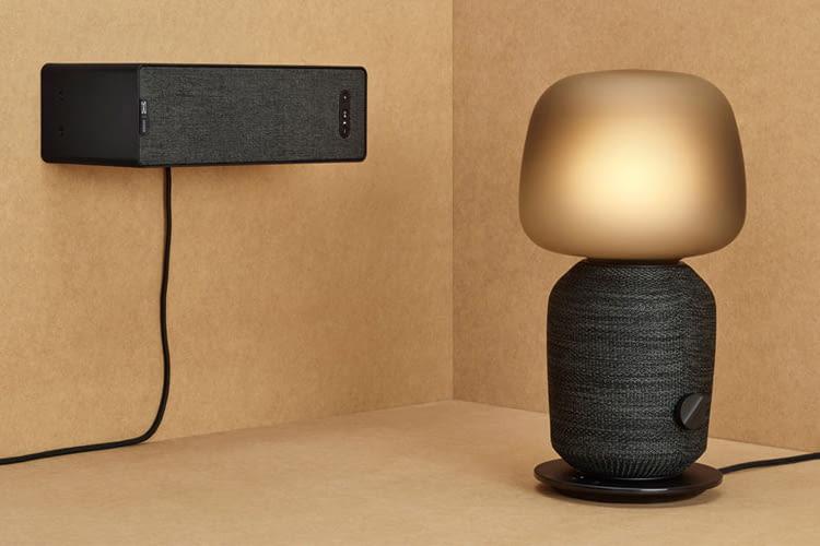In Kooperation mit Sonos vermarktet IKEA einen SYMFONISK Lautsprecher und eine SYMFONISK Lampe mit Sound