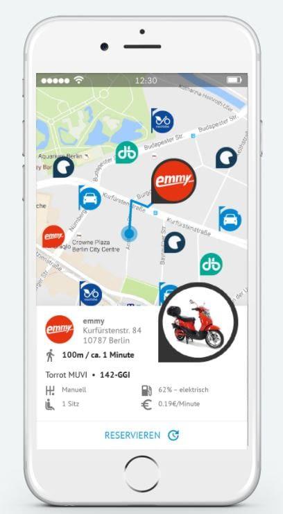 Nach der Registrierung bei myScotty stehen viele Social Sharing Angebote zur Verfügung