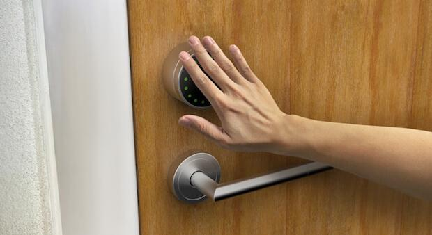 LIME SMART LOCK mit one-tap Bedienung