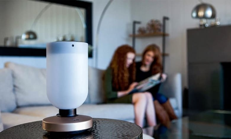 Eine Lampe, die als Hub für Philips Hue Birnen agiert