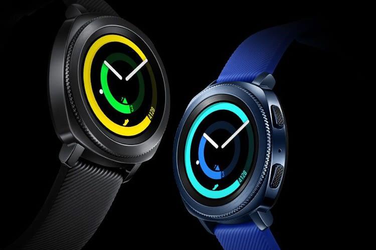 Gerade auf der IFA 2017 in Berlin angekündigt: Smartwatch Samsung Gear Sport