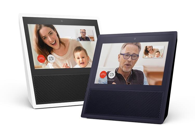 Amazon Echo Show bietet Videotelefonie und eignet sich dank 7-Zoll-Display auch zum Ansehen von Videos