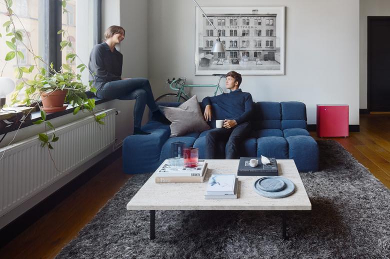 Blueair Sense+ im Wohnzimmer