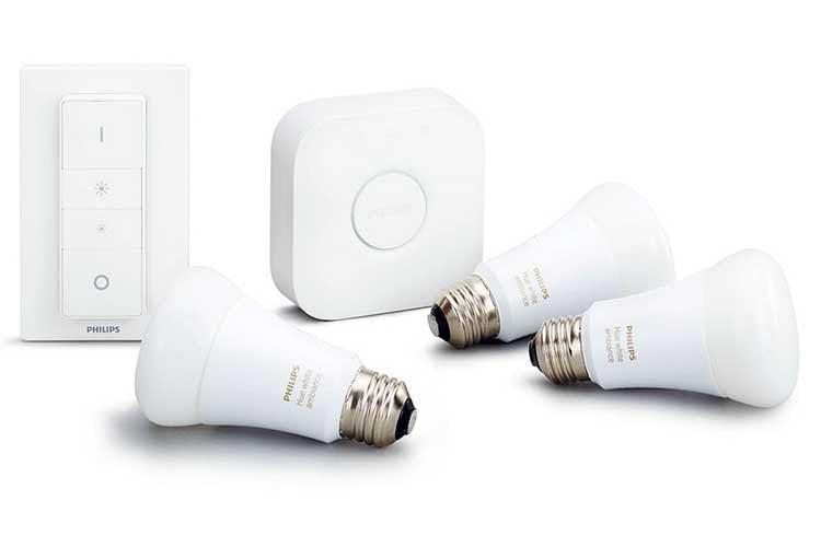 Die Komponenten des Philips Hue White Ambiance verbinden sich über den Zigbee-Funkstandard