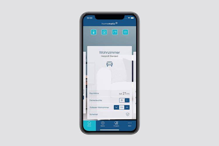 Per App lassen sich unterschiedliche Heizpläne erstellen