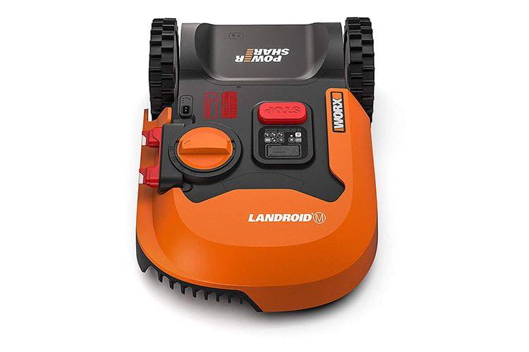 Worx Landroid M700 ist ein Mähroboter für Arbeitsflächen von bis zu 700 qm
