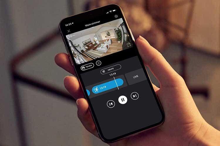 Der Zugriff auf die Ring Stick Up Cam Plug-In ist per Ring App schnell und einfach