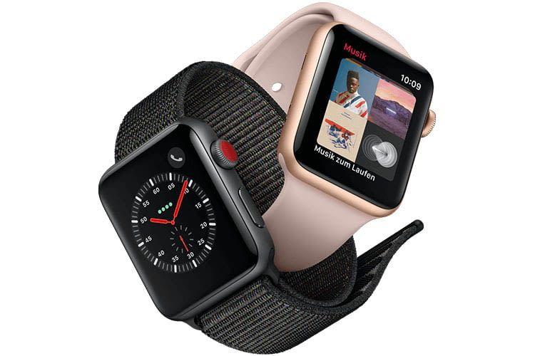 Die Apple Serie 3 mit eSIM kann bei der Telekom gekauft und mit einem MultiSIM-Tarif verwendet werden