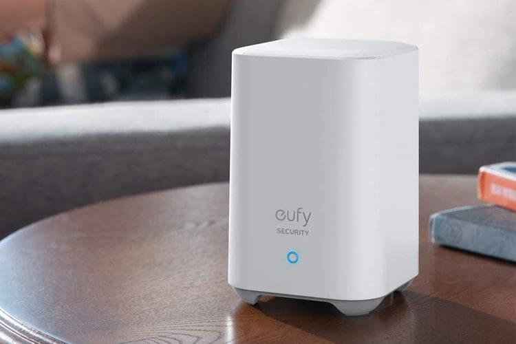 Über die im Lieferumfang der eufy Security Akku Türklingel enthaltenen HomeBase werden Videos lokal gespeichert