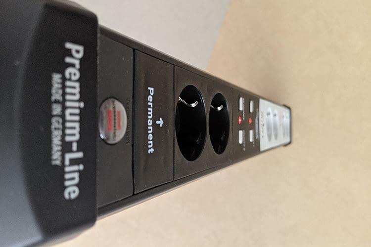Ein wahrer Power-Riegel: die brennenstuhl Connect Premium-Line WLAN-Steckdosenleiste made in Germany