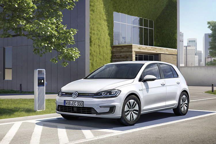 Beim neuen e-Golf-Modell hat der Akku eine Kapazität von 35,8 kWh