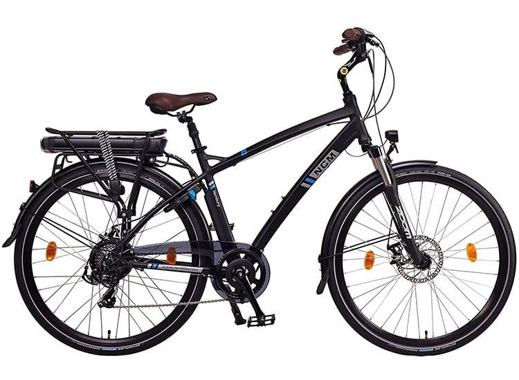 Das E-Trekking-Bike NCM Hamburg sorgt für Mobilität in der Stadt und auf dem Land