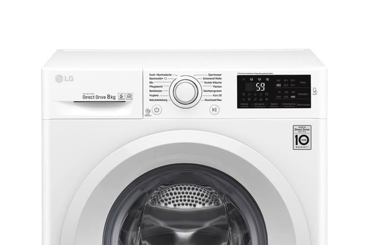 Die Waschmaschine wird mit 14 vorprogrammierten Programmen geliefert, weitere lassen sich ergänzen