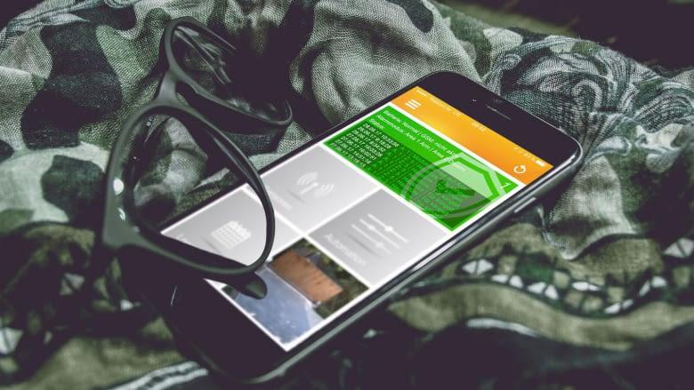 Per kostenloser LUPUSEC-App oder Alexa steuert man das Smart Home