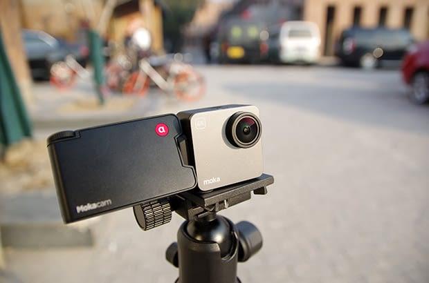Auf Wunsch kann auch ein Stativ die Rolle des Kameramanns übernehmen