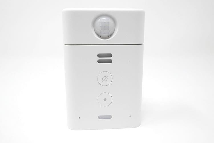 Die Kombination aus Echo Flex und Bewegungsmelder bietet eine schnelle Installation
