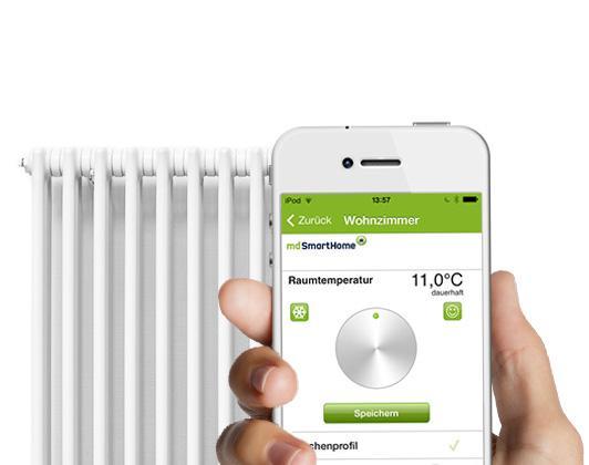 Mobilcom Debitel Smart Home App Heizungssteuerung