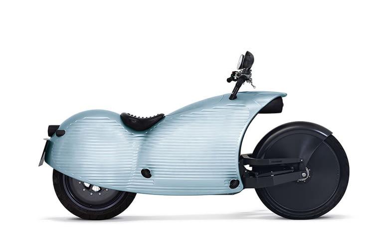 Das Elektromotorrad von Johammer ist zu 100 Prozent recyclebar