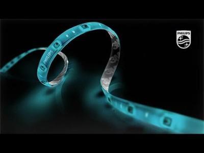 Starke Lichtquelle mit Philips Hue LightStrips Plus