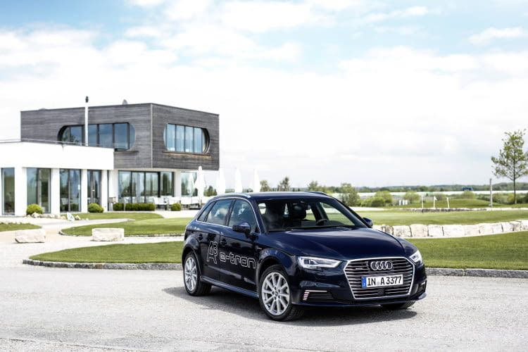 Audi A3 Sportback e-tron Hybridsportler aus Ingolstadt mit nur 40 g/km CO2 Ausstoss
