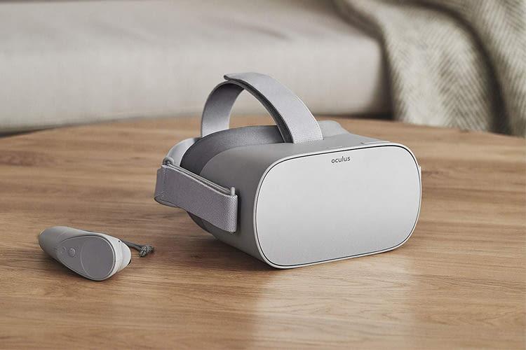 Das Design von Oculus GO erinnert ein wenig an gewisse Apple Produkte