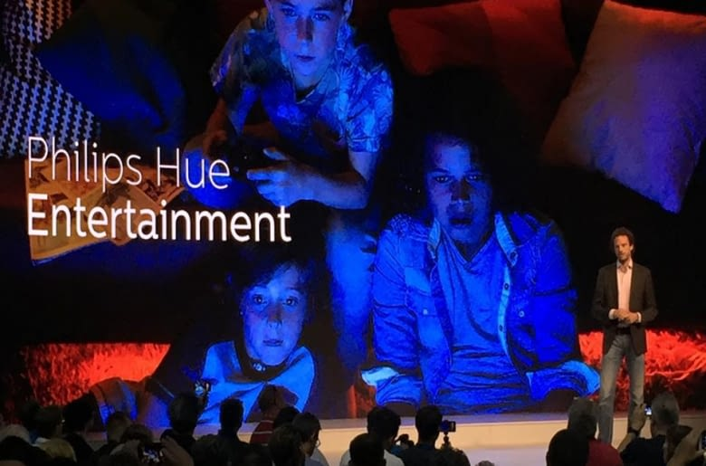 Auf der IFA 2017 ist Philips Hue Entertainment ein Smart Home-Highlight