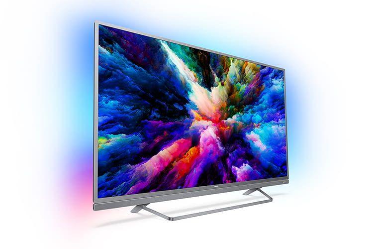 Philips Ultra Slim LED-TV Fernseher 8503 mit 4K-Auflösung und Google Assistant