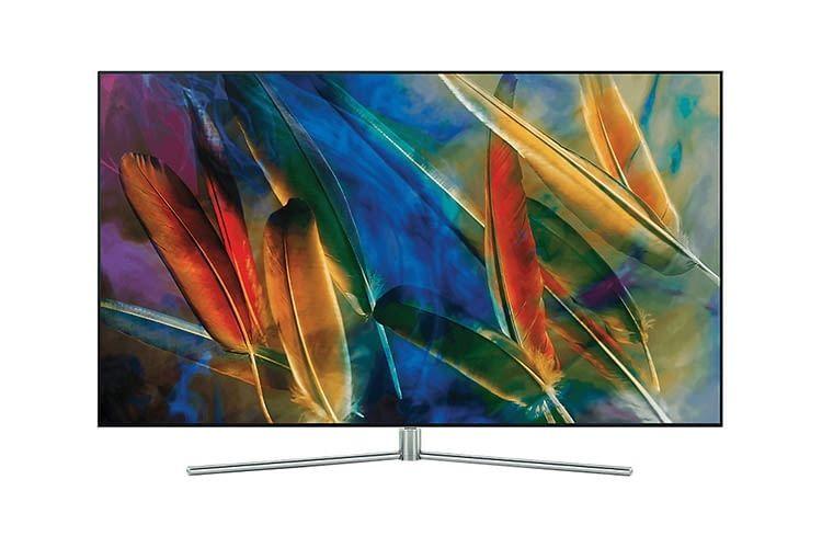 Mit 65 Zoll und 4K UHD Auflösung bietet der Samsung 75 Zoll QLED TV Q7F ein tolles Filmvergnügen
