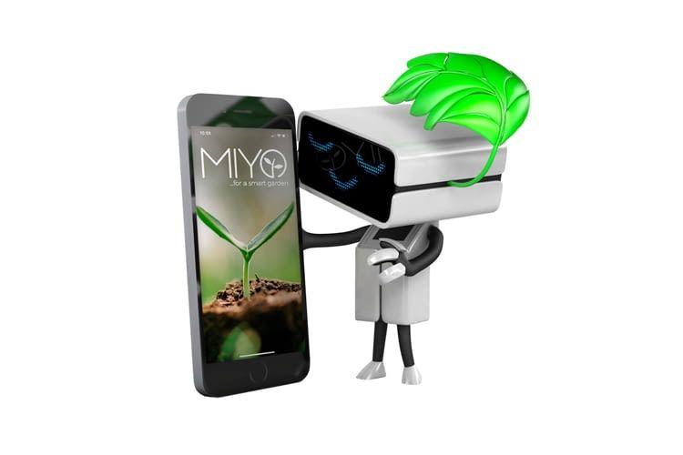 Mit der MIYO-App ist ein Fernzugriff auf das Bewässerungssystem möglich