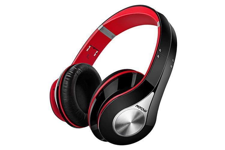 Mpow 059 Over-Ear-Kopfhörer verbindet sich via Bluetooth oder Kabel mit Quellgeräten