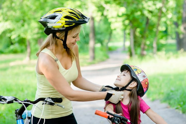 Ein schönes Design ist entscheidend dafür, dass Kinder ihren Helm auch anbehalten