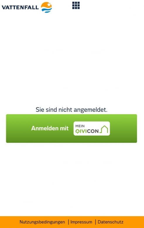 Der Vattenfall Smart Home Manager wird mit der QIVICON-ID aktiviert