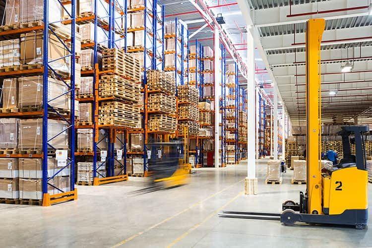 Quicargo vermittelt Touren für Güter, die auf Paletten transportiert werden