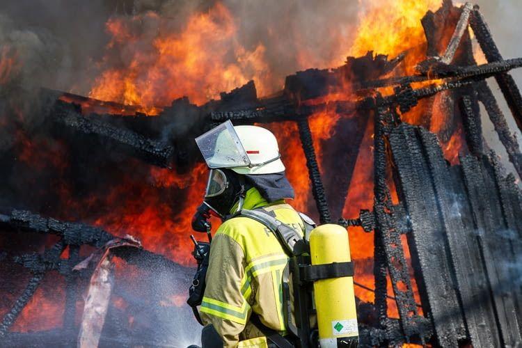 Wenn das Zuhause erst mal brennt, sind Sachschäden unvermeidlich