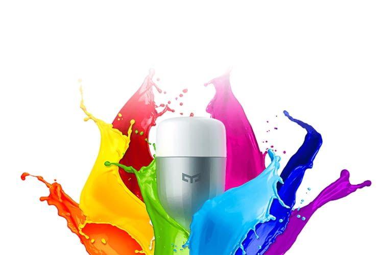 Die Farbe der Bulbs lässt sich auch per Echo oder Google Home auf Zuruf ändern